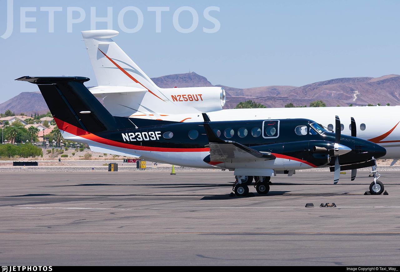 N2303F - Beechcraft B200 Super King Air - Private