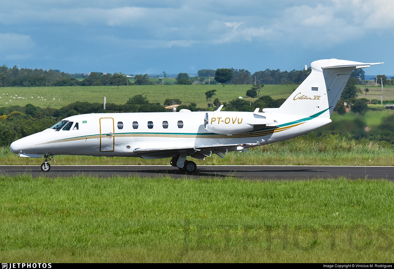 PT-OVU - Cessna 650 Citation VII - Private
