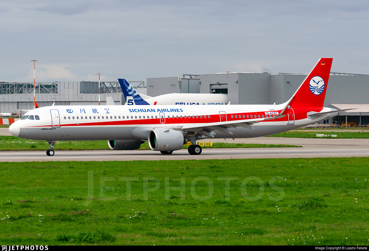 D-AYAY - Airbus A321-271NX - Sichuan Airlines