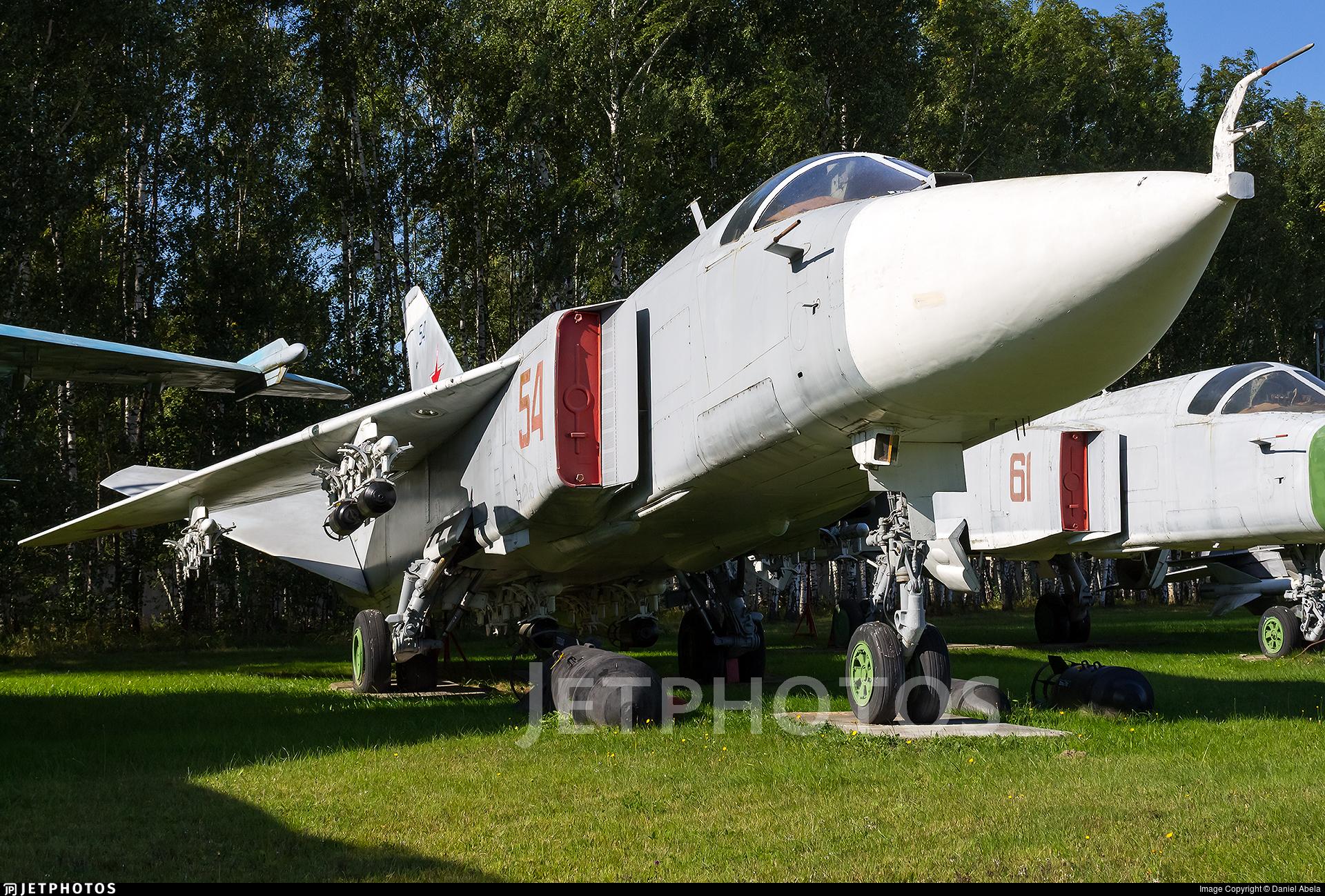 54 - Sukhoi Su-24 Fencer - Soviet Union - Air Force