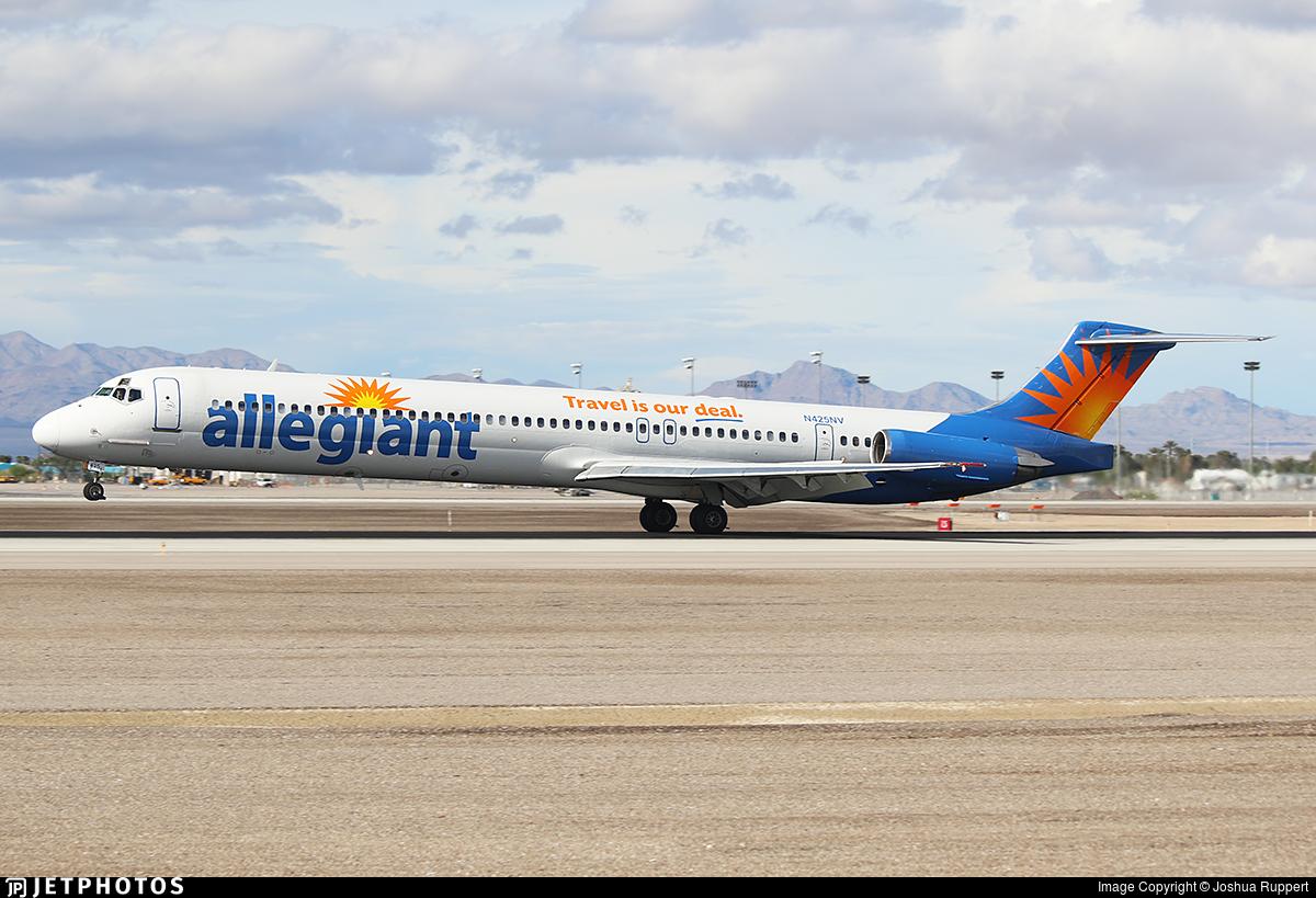 N425NV - McDonnell Douglas MD-83 - Allegiant Air