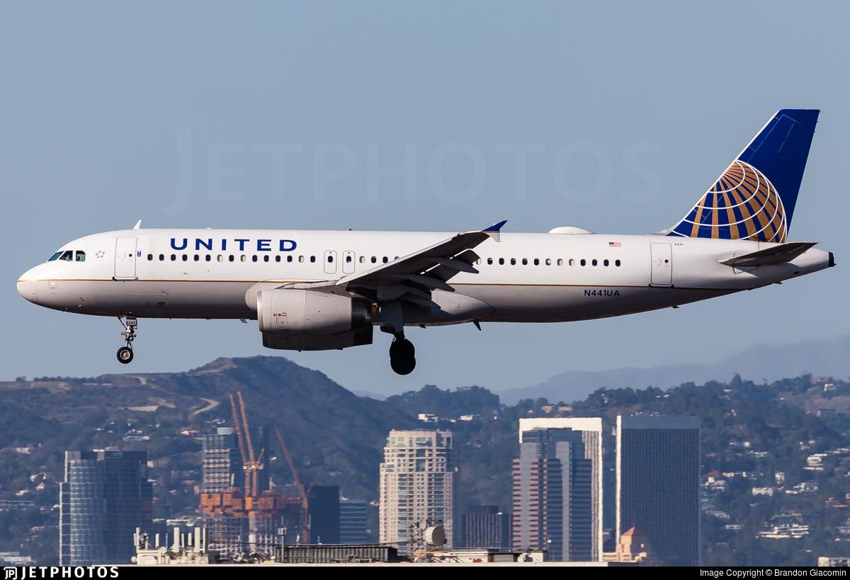 N441UA - Airbus A320-232 - United Airlines