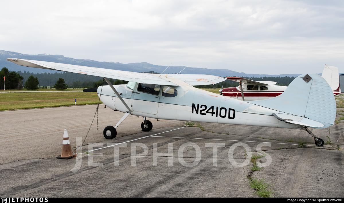 N2410D - Cessna 170B - Private