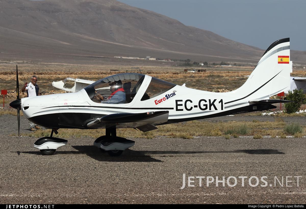 EC-GK1 - Evektor Eurostar SL - Private