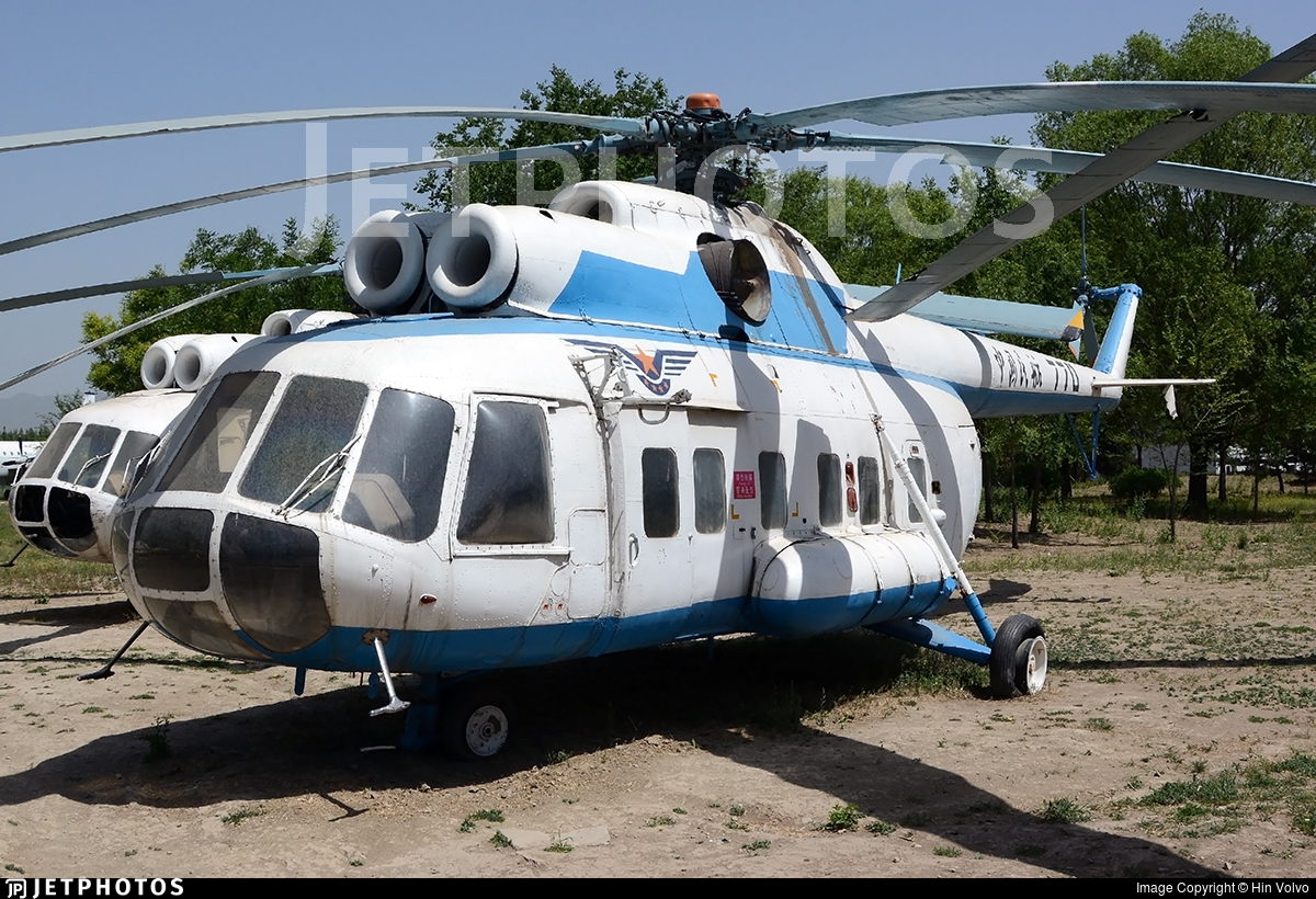 770 - Mil Mi-8P Hip - Civil Aviation Administration of China (CAAC)
