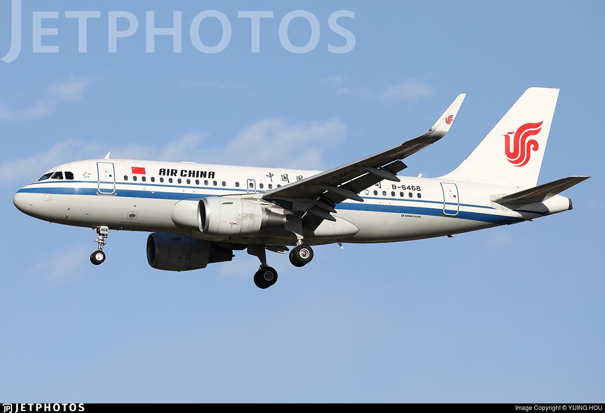 B-6468 - Airbus A319-115 - Air China