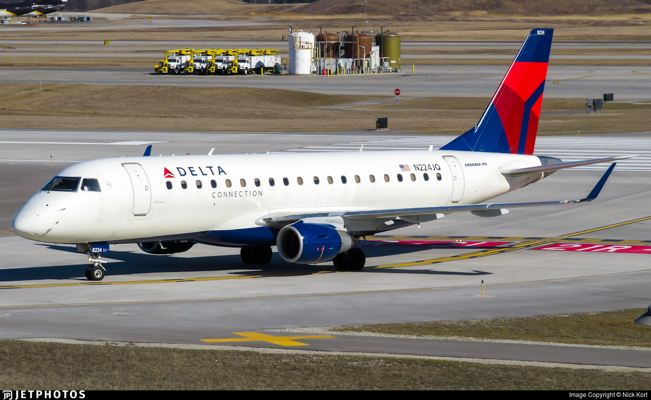 N224JQ - Embraer 170-200LR - Delta Connection (Republic Airlines)