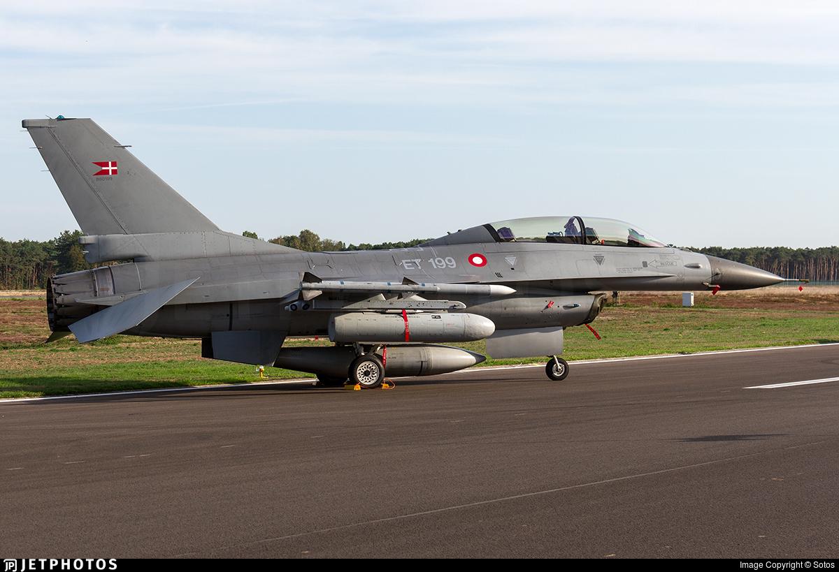 ET-199 - General Dynamics F-16BM Fighting Falcon - Denmark - Air Force