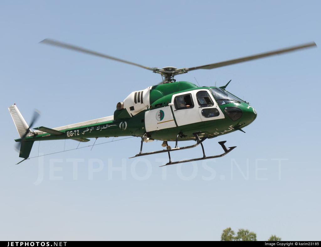 EG-72 - Eurocopter AS 355N Ecureuil 2 - Algeria - Air Force