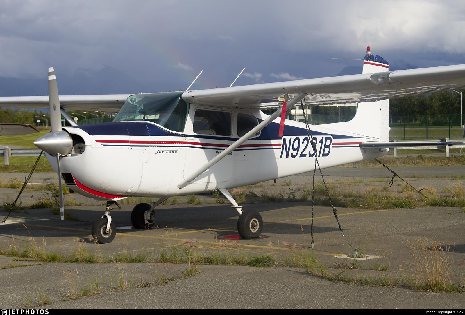 N9231B - Cessna 175 Skylark - Private