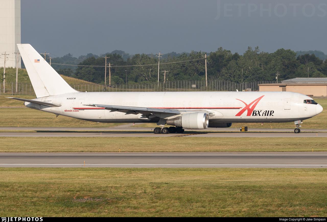 N362CM - Boeing 767-338(ER)(BDSF) - ABX Air