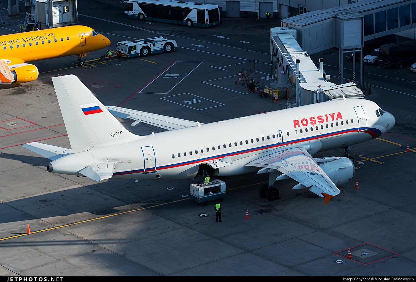 EI-ETP - Airbus A319-112 - Rossiya Airlines