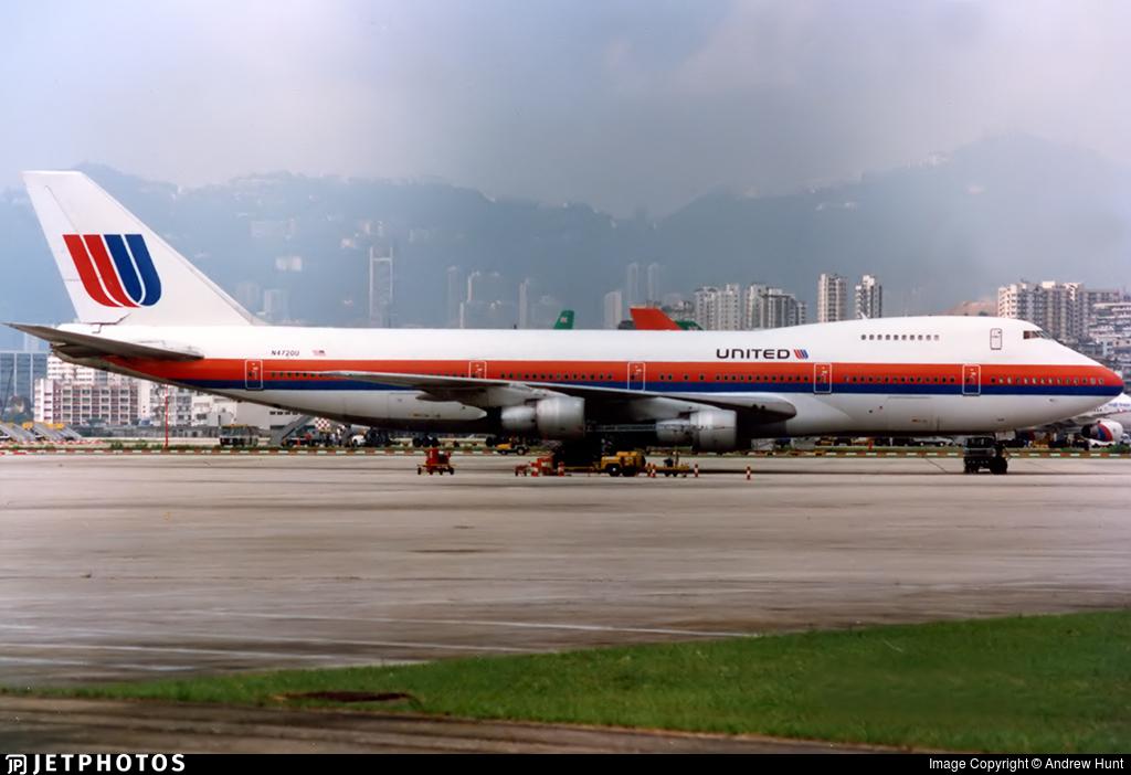 N4720U - Boeing 747-122 - United Airlines