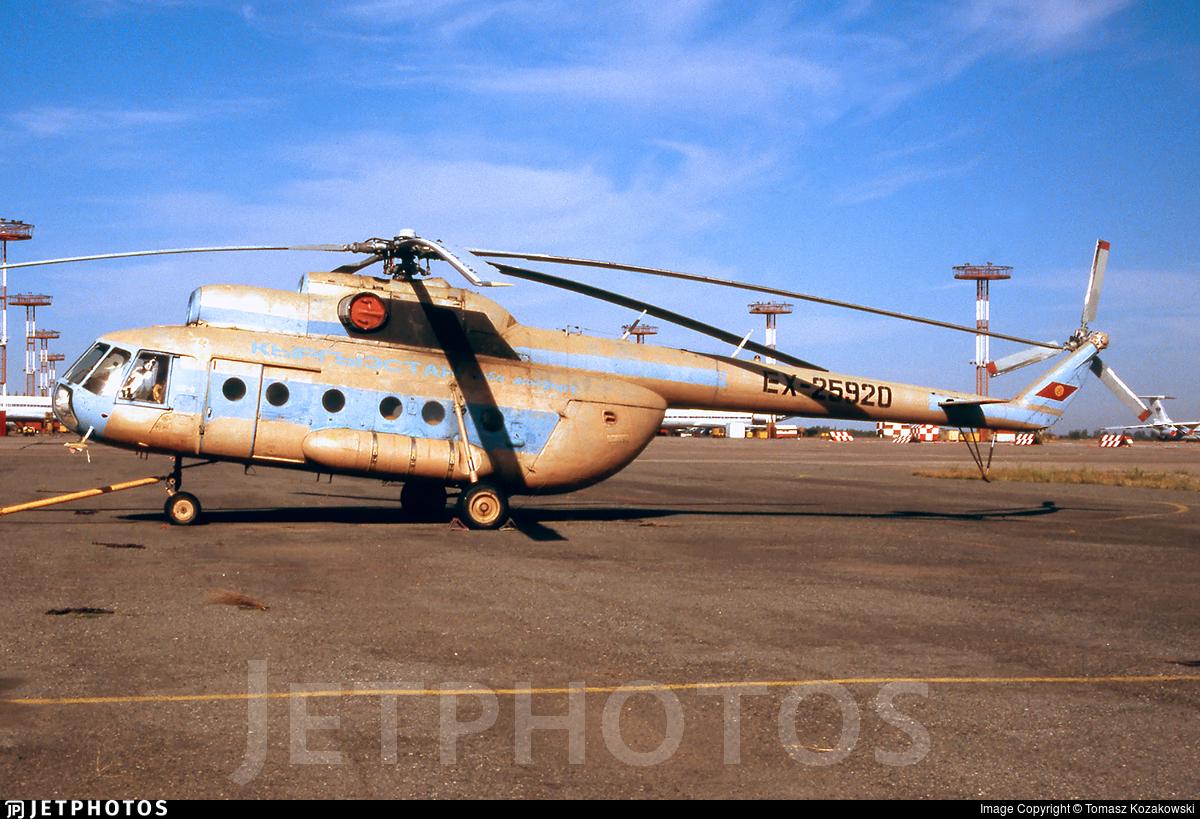 EX-25920 - Mil Mi-8T - Kyrgyzstan Airlines