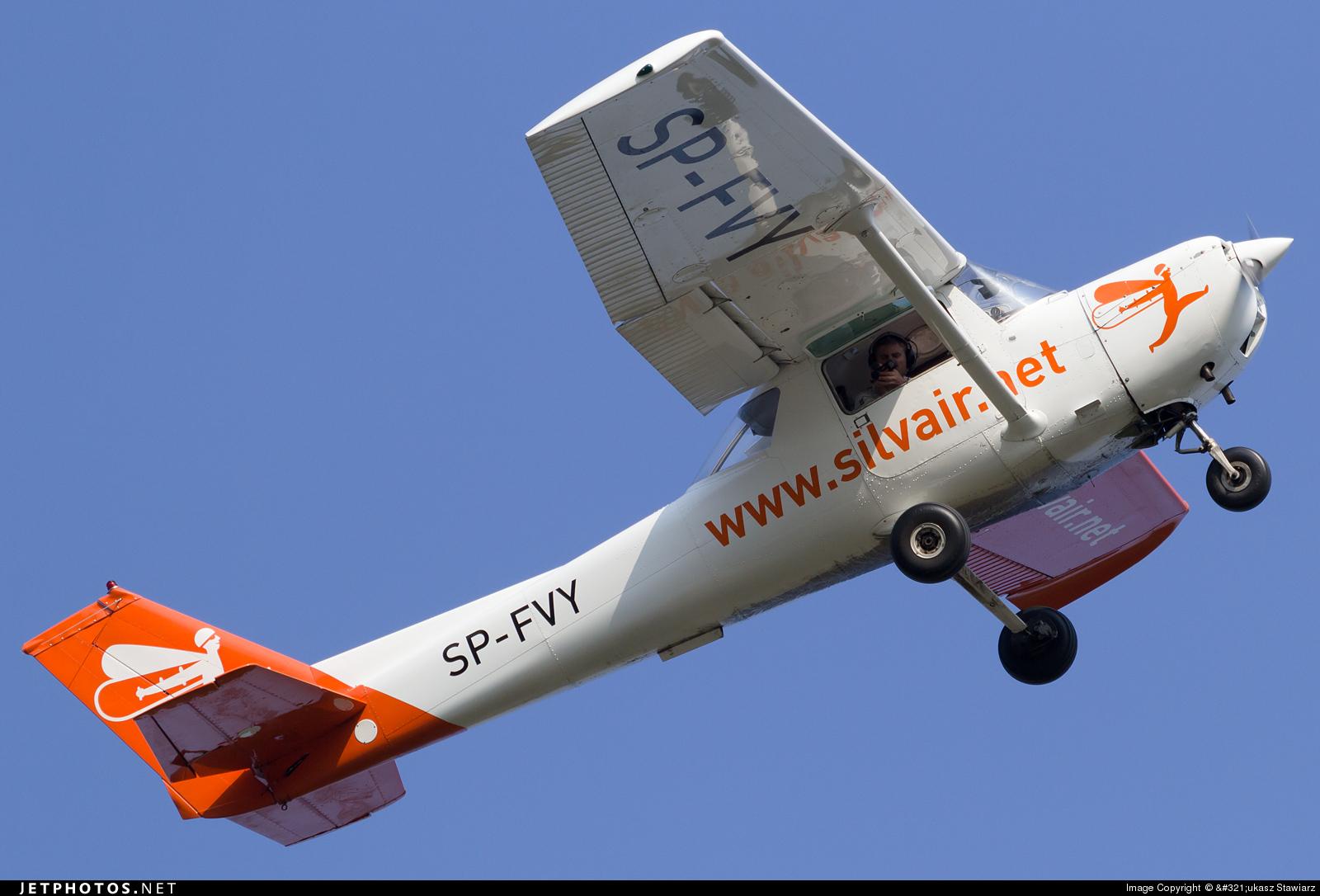 SP-FVY - Cessna 152 II - Silvair
