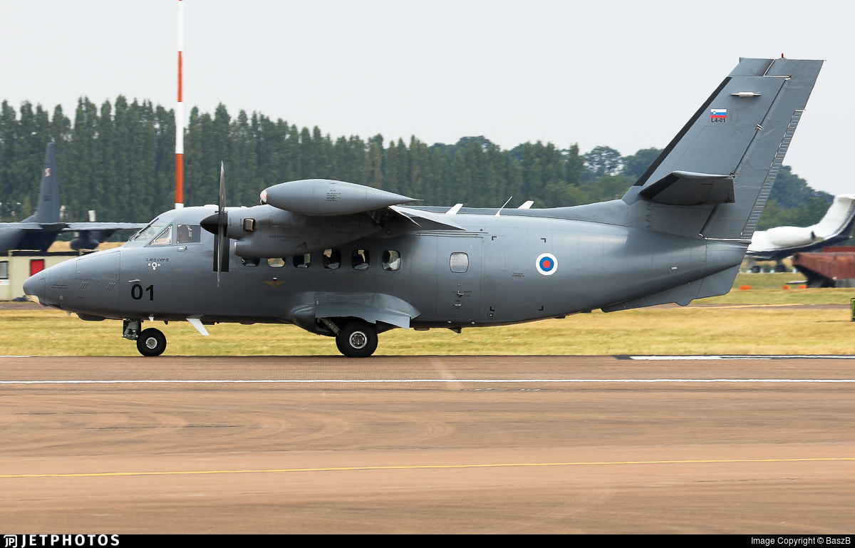 L4-01 - Let L-410UVP-E Turbolet - Slovenia - Air Force