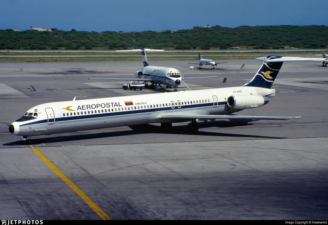 YV-42C - McDonnell Douglas MD-83 - Aeropostal - Alas de Venezuela