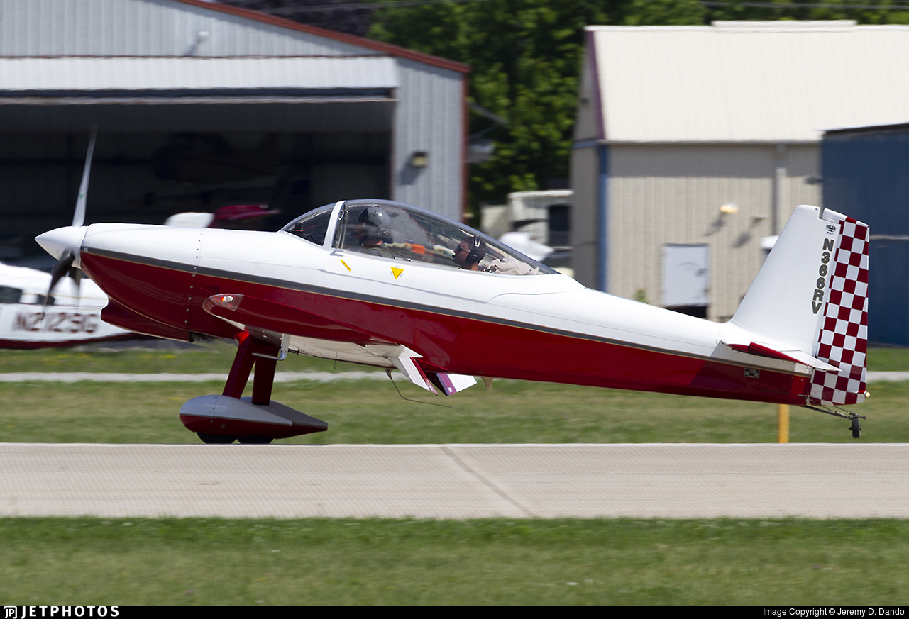 N366RV - Vans RV-8 - Private