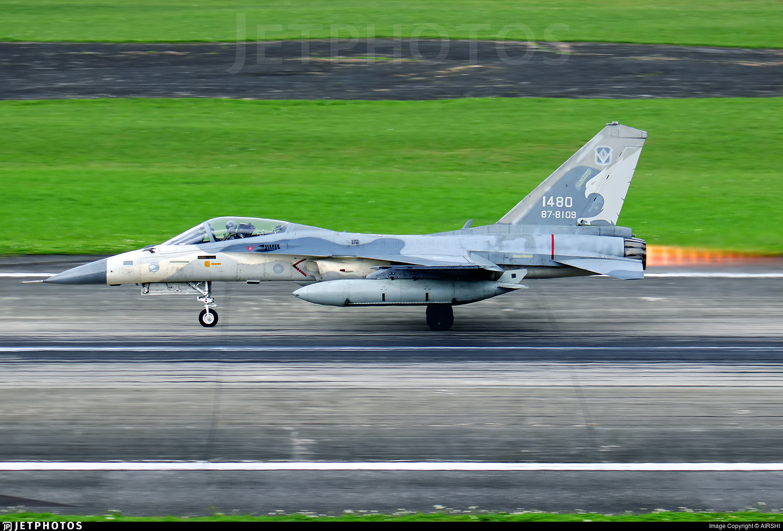 1480 - AIDC F-CK-1C Ching Kuo - Taiwan - Air Force