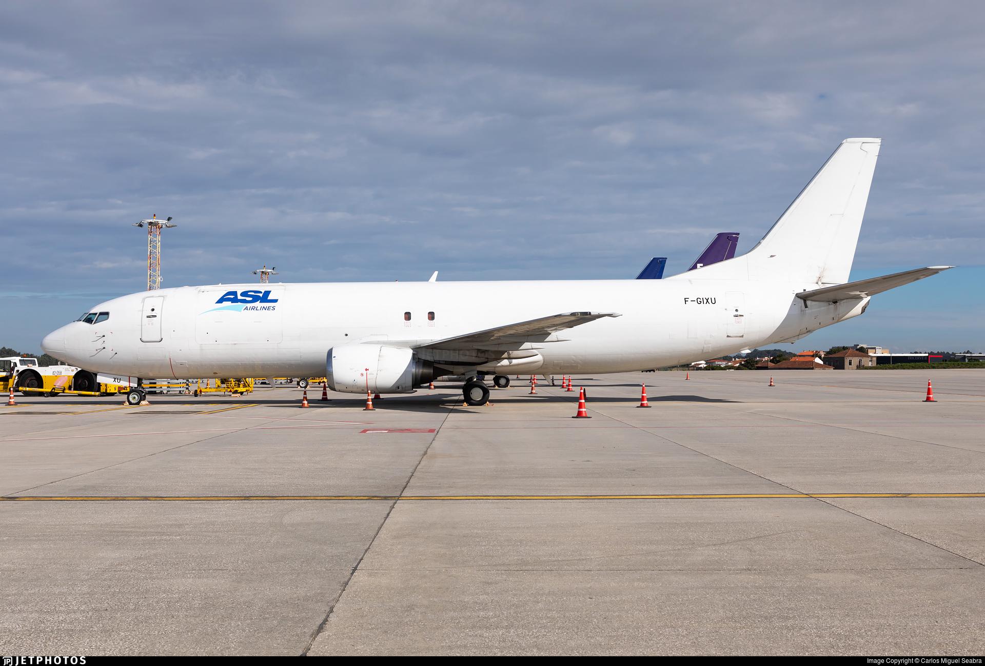 F-GIXU - Boeing 737-4Y0(SF) - ASL Airlines