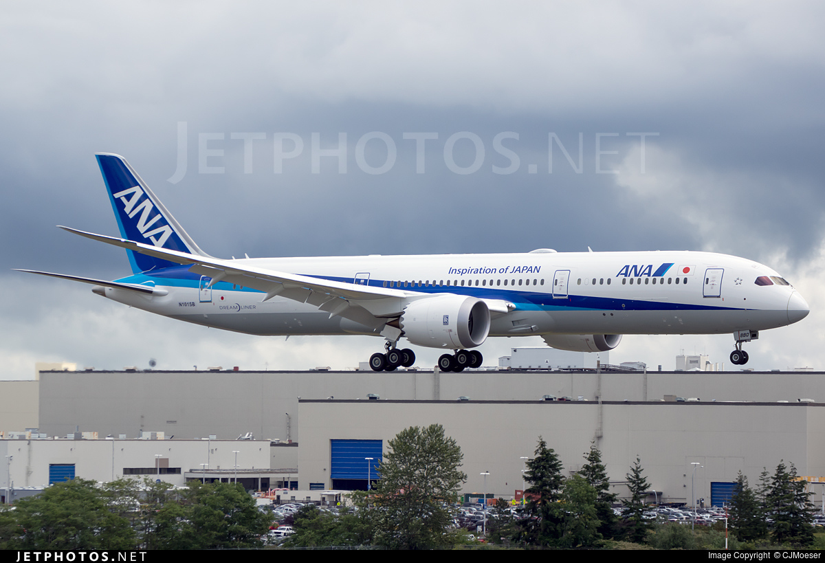 N1015B - Boeing 787-9 Dreamliner - All Nippon Airways (ANA)