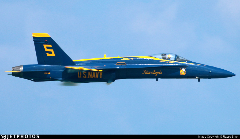 162411 - McDonnell Douglas F/A-18A+ Hornet - United States - US Navy (USN)