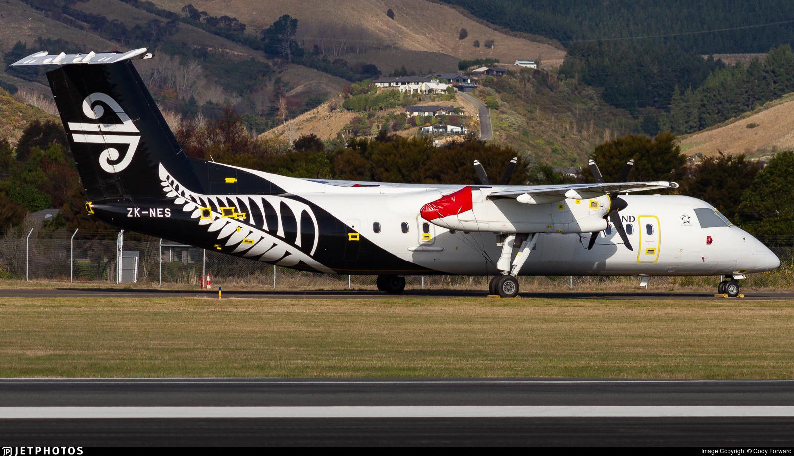 ZK-NES - Bombardier Dash 8-Q311 - Air New Zealand
