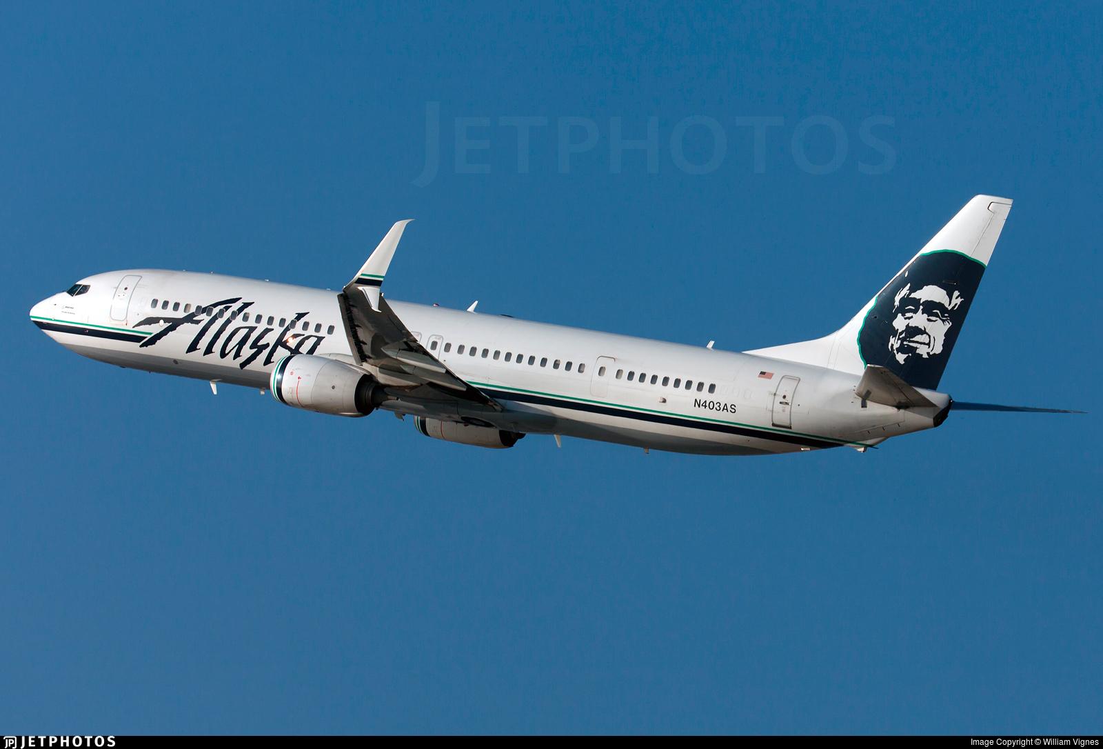 N403AS - Boeing 737-990ER - Alaska Airlines