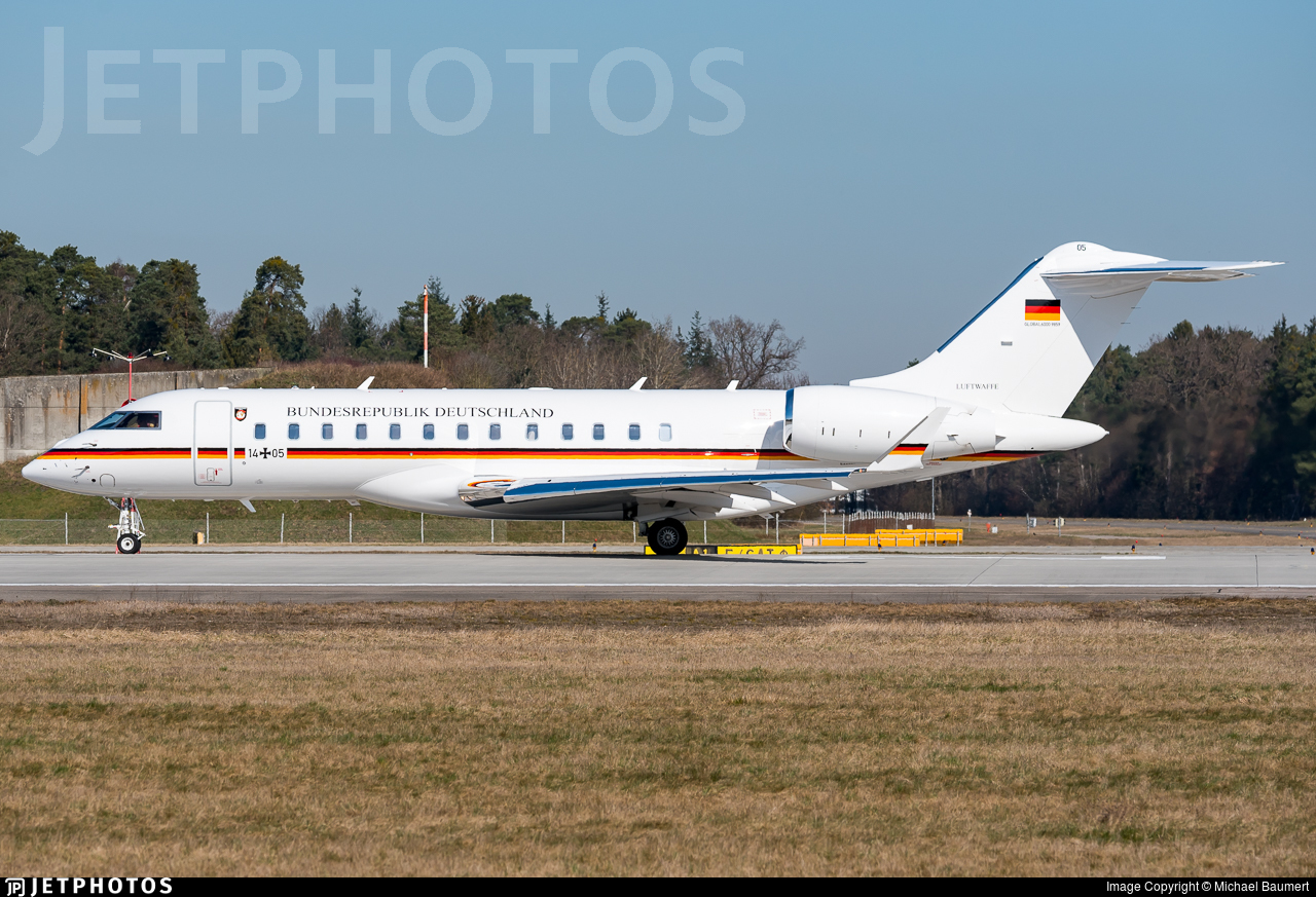 14-05 - Bombardier BD-700-1A10 Global 6000 - Germany - Air Force