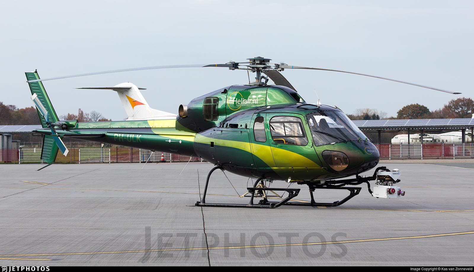 PH-ULK - Eurocopter AS 355N Ecureuil 2 - Heliair