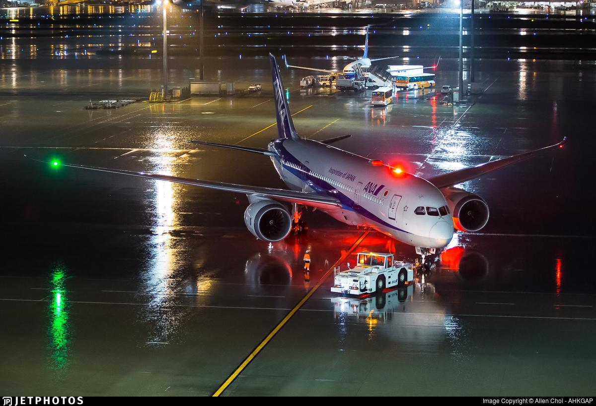 JA838A - Boeing 787-8 Dreamliner - All Nippon Airways (ANA)