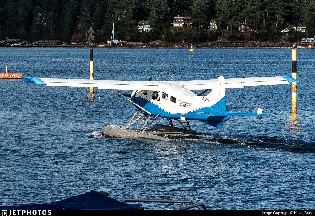 C-FUVQ - De Havilland Canada DHC-2 Mk.I Beaver - Sunshine Coast Air