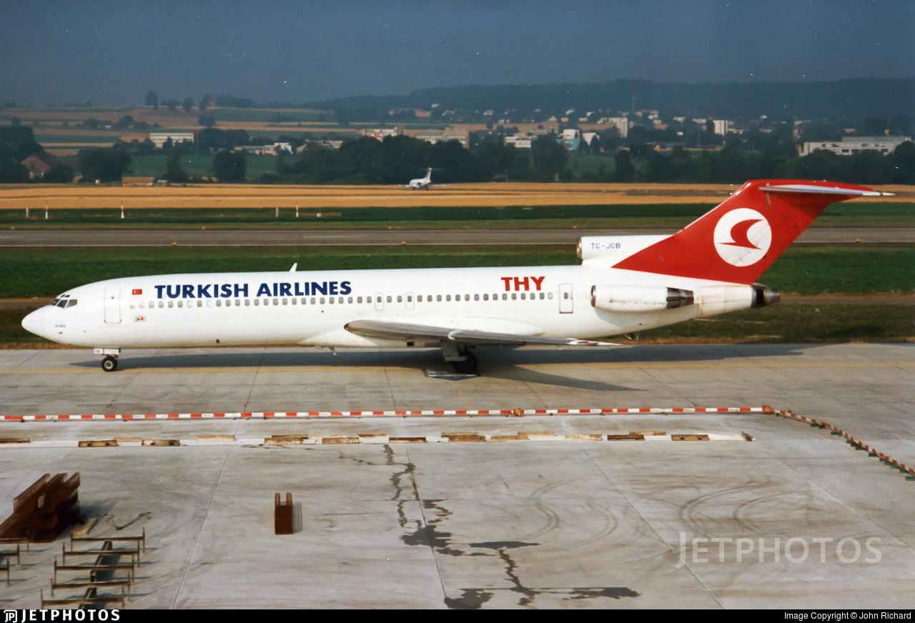 TC-JCB - Boeing 727-2F2(Adv) - THY Turkish Airlines Cargo