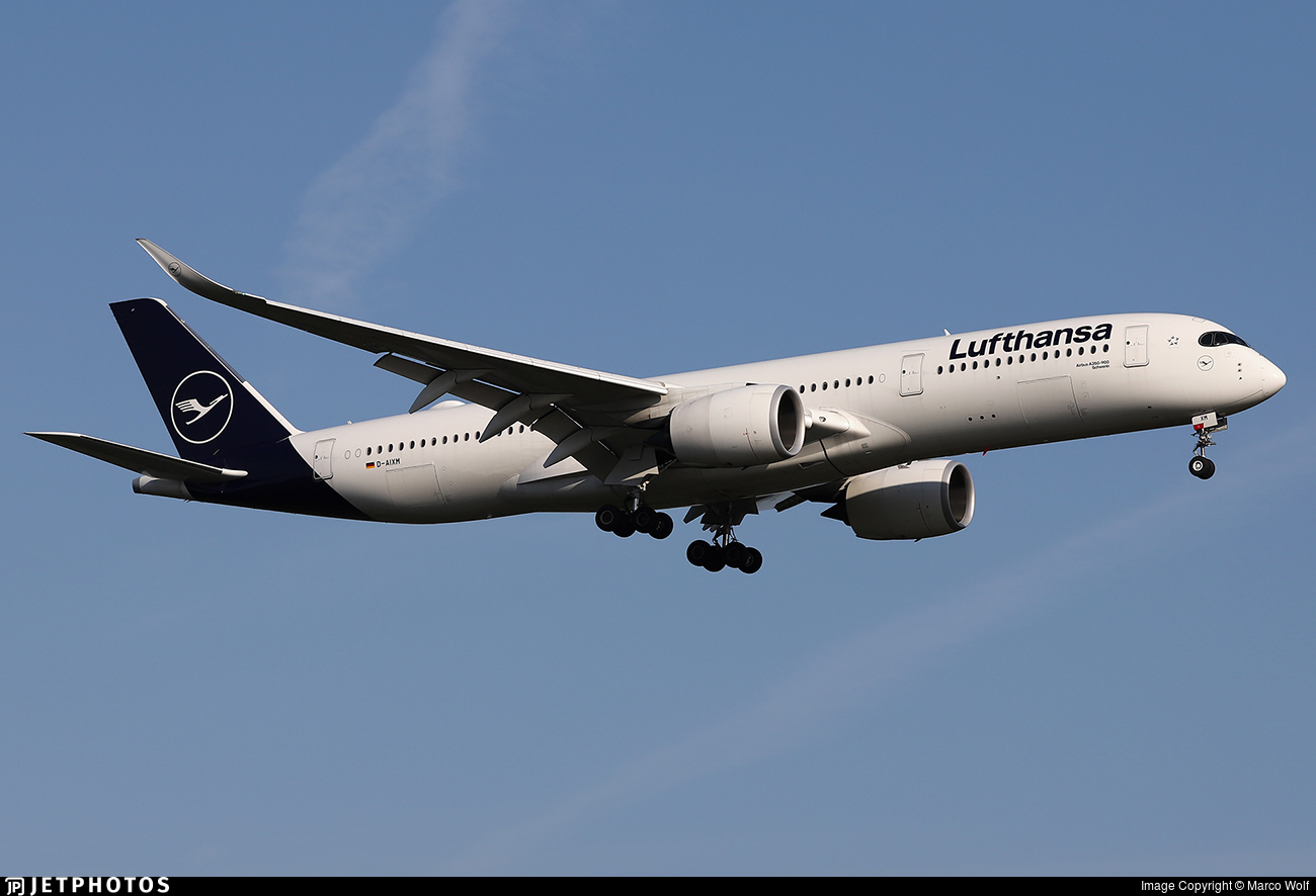 D-AIXM - Airbus A350-941 - Lufthansa