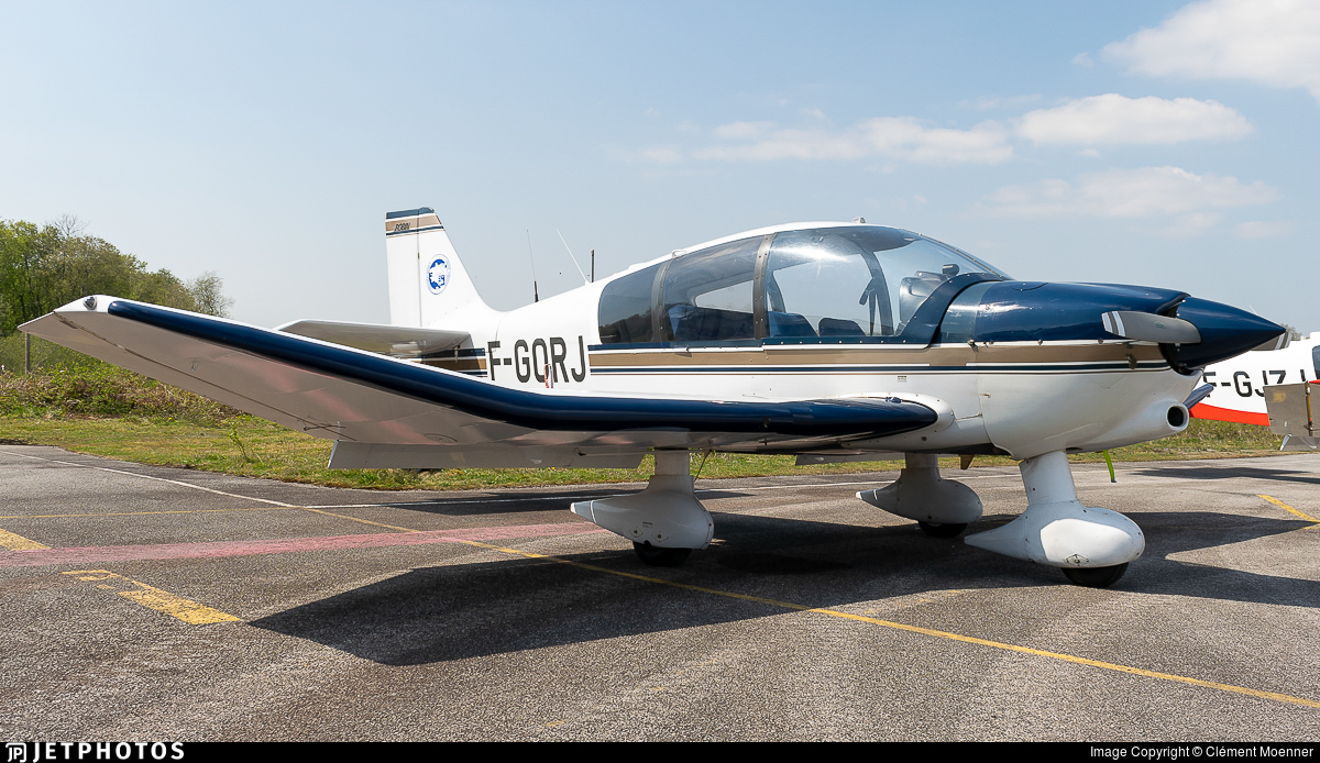 F-GORJ - Robin DR400/500 - Aero Club - Quimper