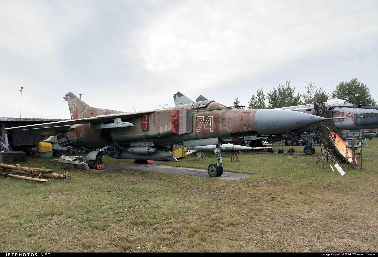74 - Mikoyan-Gurevich MiG-23ML Flogger G - Russia - Air Force