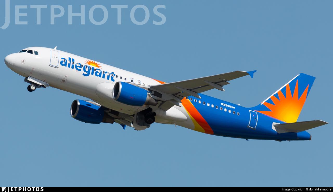 N290NV - Airbus A320-214 - Allegiant Air