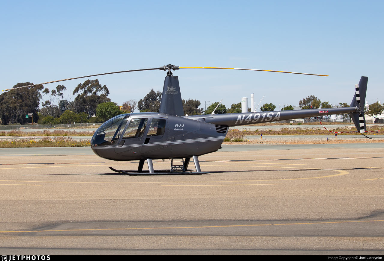 N491SA - Robinson R44 Raven II - Corporate Helicopters