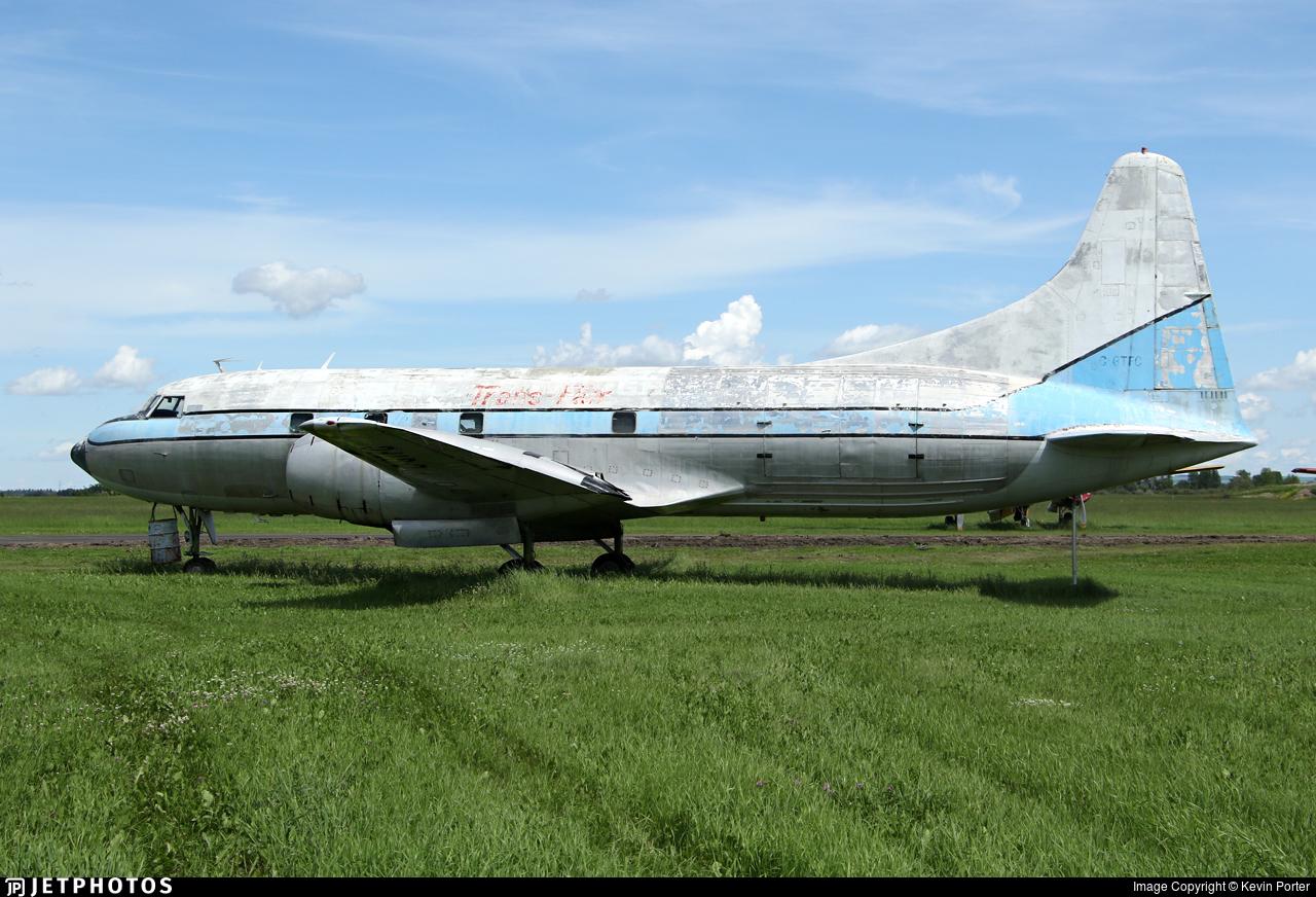 C-GTFC - Convair CV-240 - Buffalo Airways
