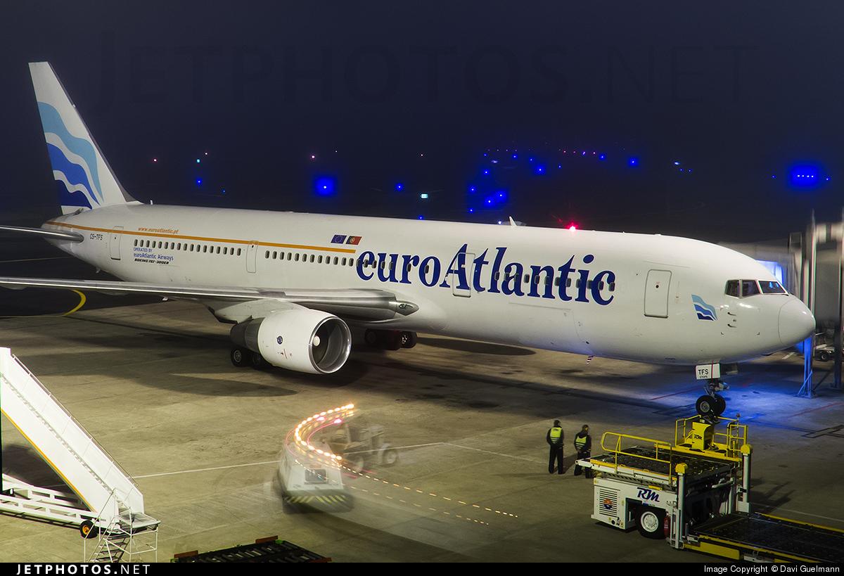 CS-TFS - Boeing 767-3Y0(ER) - EuroAtlantic Airways