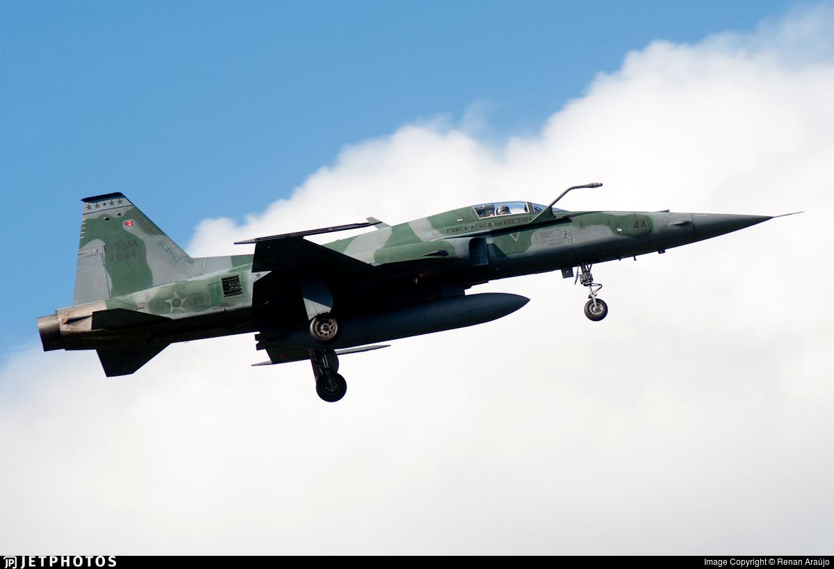 FAB4844 - Northrop F-5EM Tiger II - Brazil - Air Force