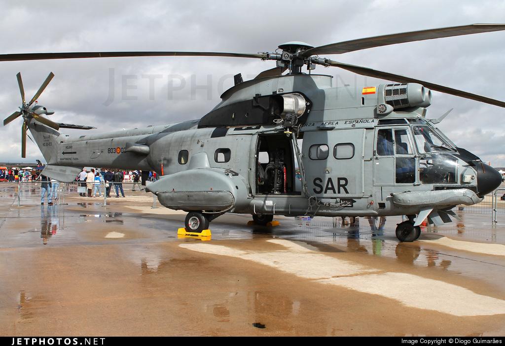 HD.21-03 - Aérospatiale AS 332B Super Puma - Spain - Air Force
