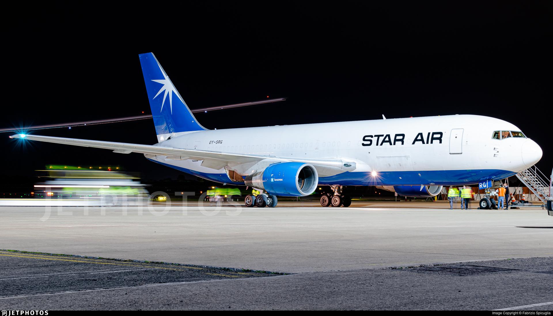 OY-SRG - Boeing 767-219(ER)(BDSF) - Star Air