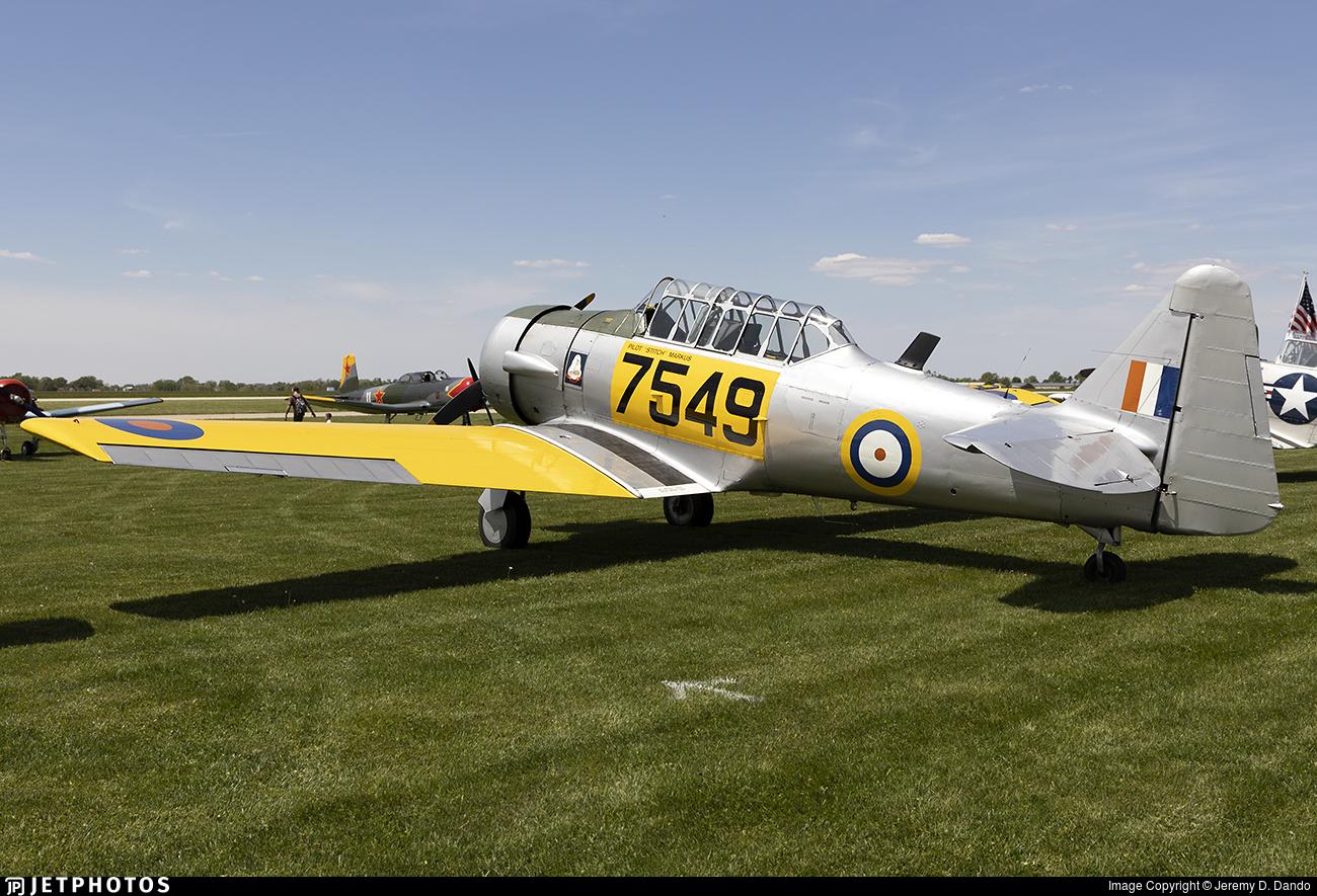 N95WM - North American AT-6D Harvard III - Private