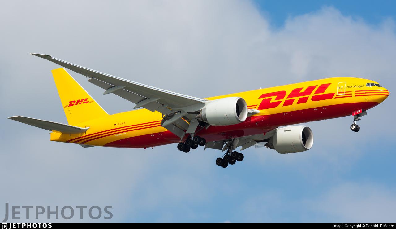 D-AALM - Boeing 777-FBT - DHL (AeroLogic)