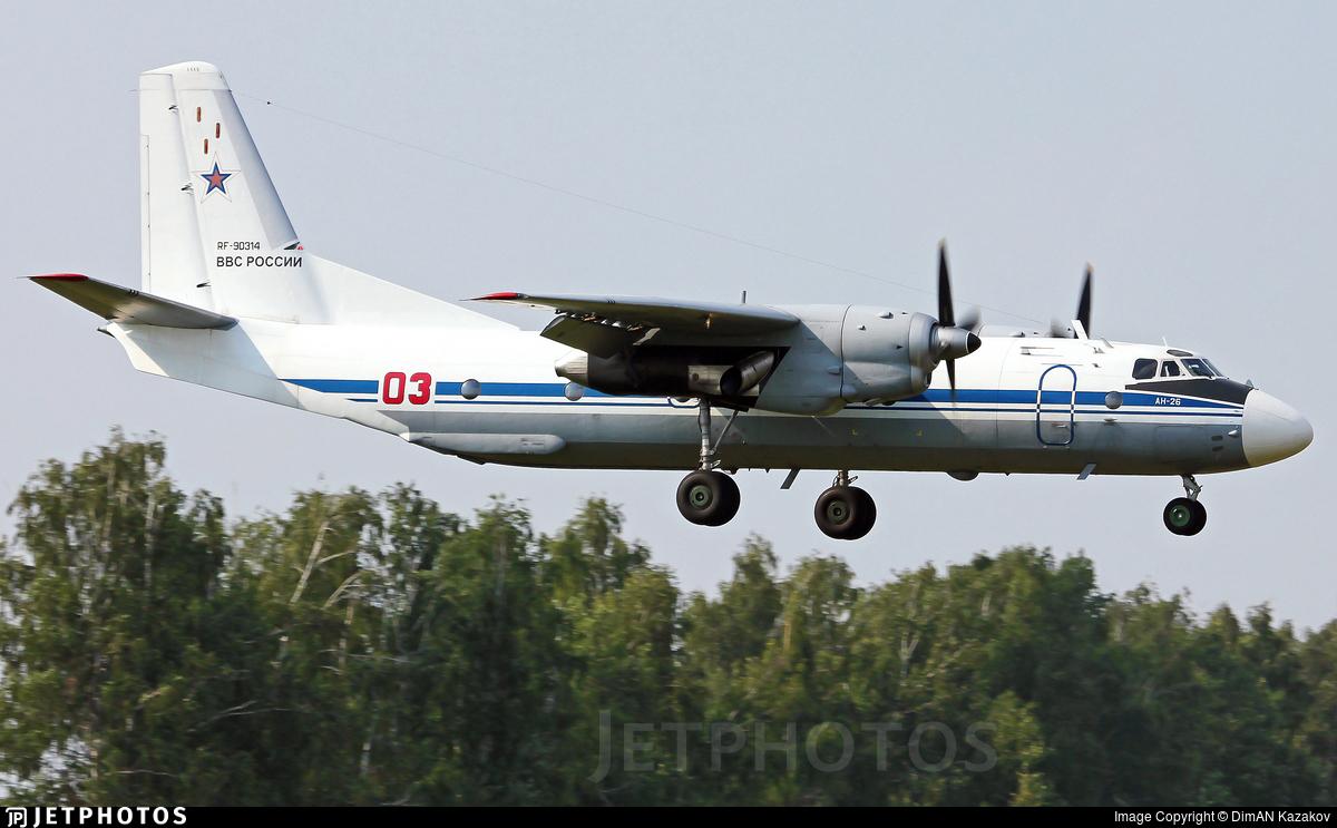 RF-90314 - Antonov An-26 - Russia - Air Force