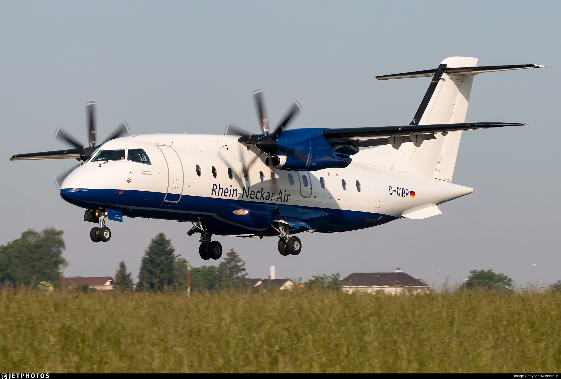 D-CIRP - Dornier Do-328-110 - Rhein-Neckar Air