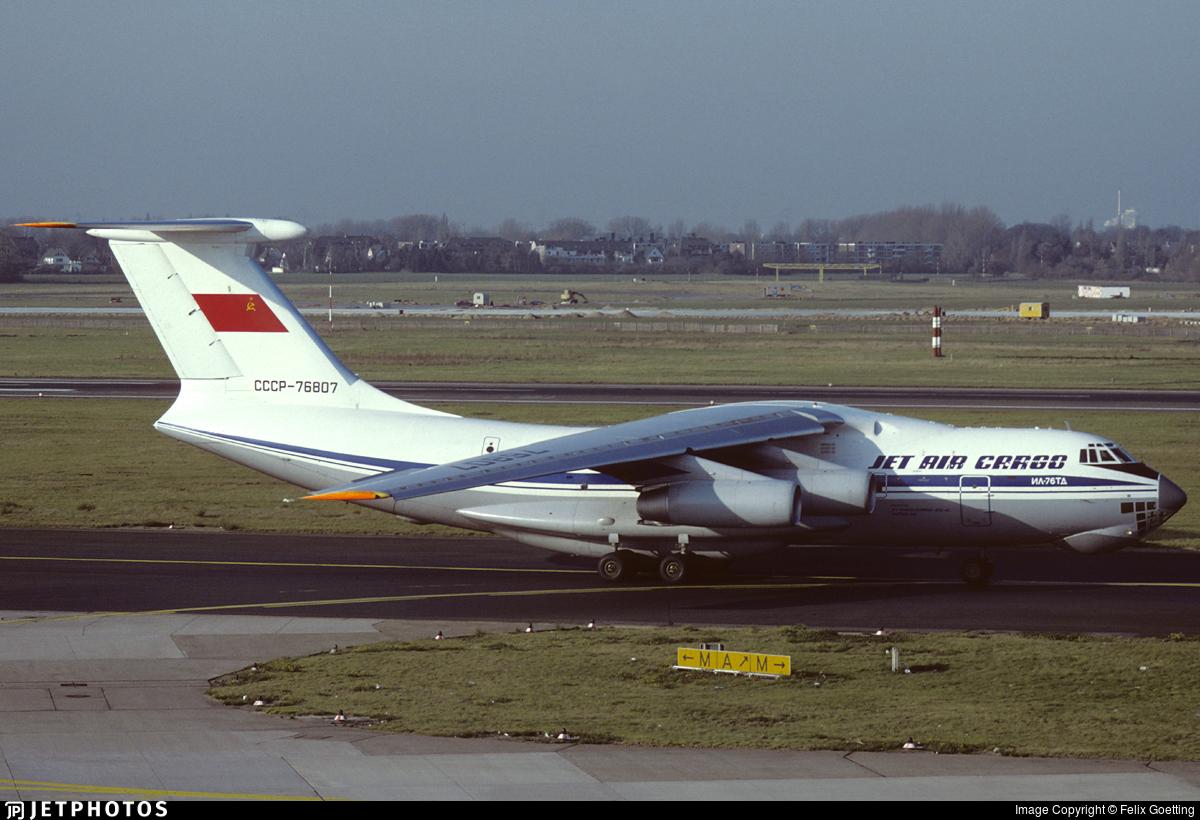 CCCP-76807 - Ilyushin IL-76TD - Jet Cargo