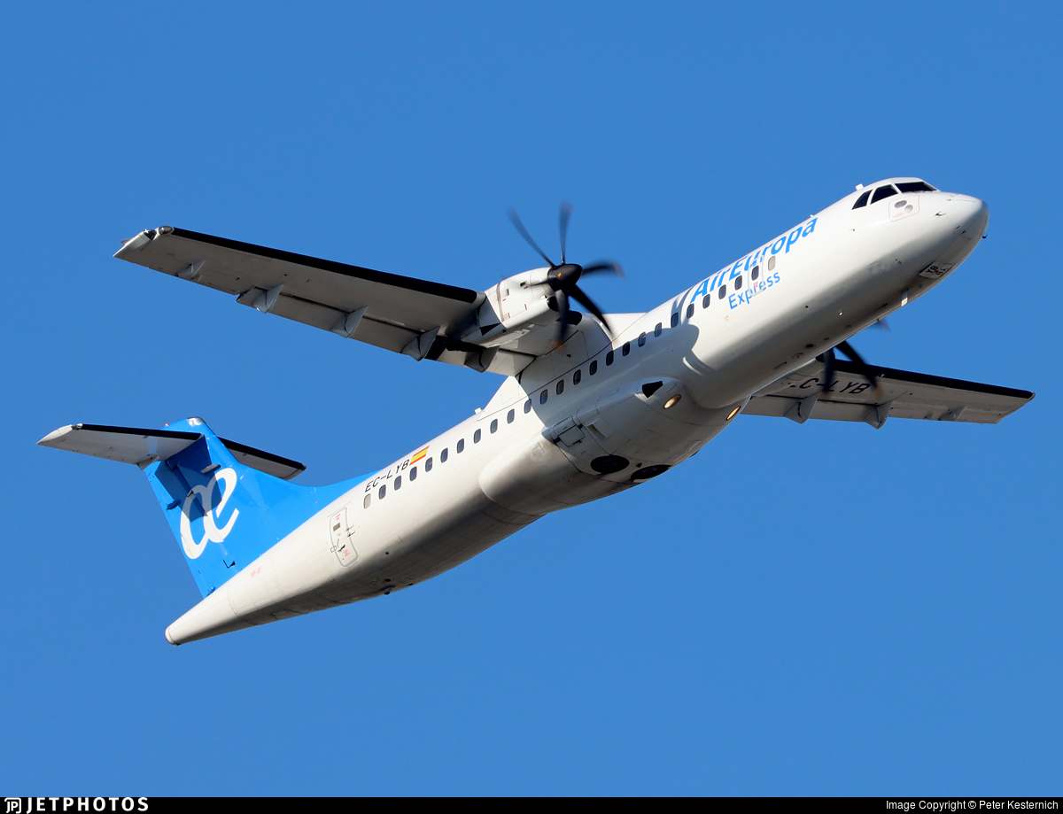 EC-LYB - ATR 72-212A(500) - Air Europa Express (Swiftair)