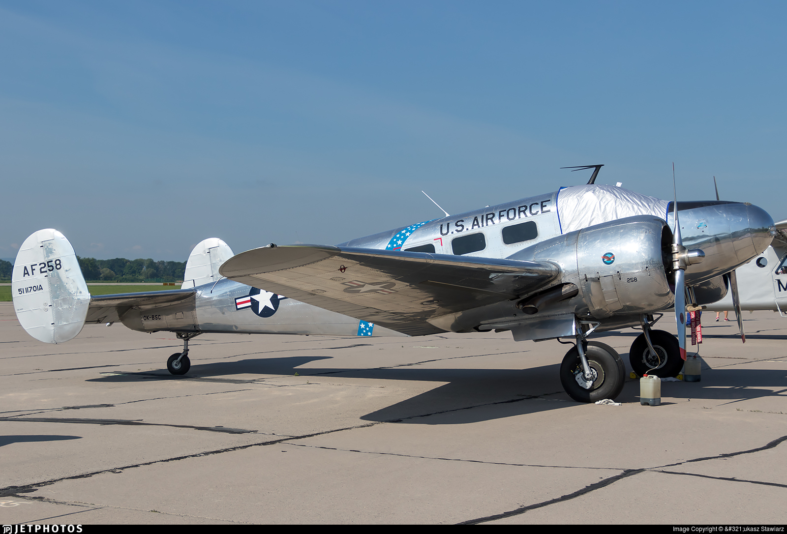 OK-BSC - Beech C-45H Expeditor - Private